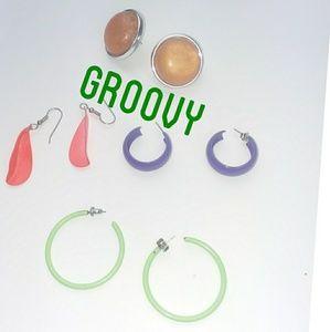 Hippy Groove Mulitcolor Earrings Bundle